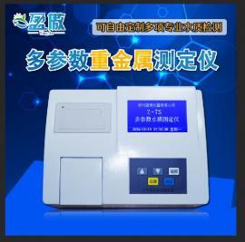 多参数重金属测定仪 专业水质分析仪 污水配套检测