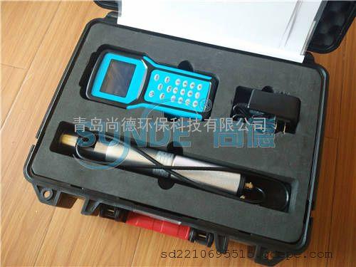 青岛尚德SN-DSH手持式智能高温总粉尘检测仪+耐高温
