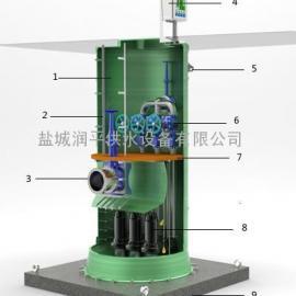 玻璃钢污水一体化提升泵站/抗浮地埋水箱哪家好