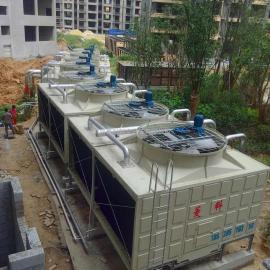 供应优质玻璃钢方型横流式冷却塔生产厂家