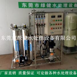 生物制药用100kg/h二级反渗透去离子水设备