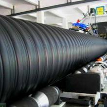 黑龙江HDPE钢带增强螺旋波纹管排水管、恒泰管业