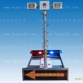 一体化车载警示照明设备,车载显示照明警示一体化设备车载云台