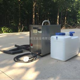 电加热蒸汽清洗机 小型移动洗车设备