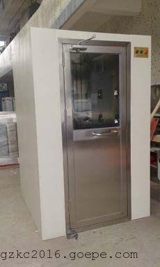 科来创供应1200型单人双吹、 外冷内不锈钢QS认证风淋室