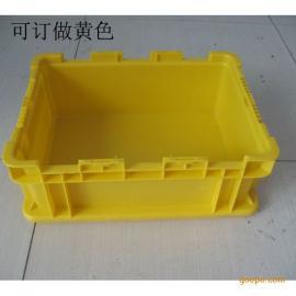 上海塑料周转箱 塑料零件盒PP蓝色物流箱QSTH