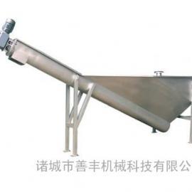 潍坊螺旋式砂水分离器的结构及工作原理