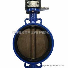 涡轮对夹脱硫蝶阀WD371X-10Q
