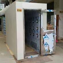 科来创供应1200-3型外冷内不锈钢风淋室 90度自动门多人双吹人淋�