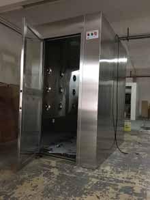 科来创供应1200-02型优质不锈钢双人双吹风淋室