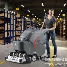 gaomeiGM-65RBT高美洗扫一体机 粗糙地面手推式全自动洗地扫地机