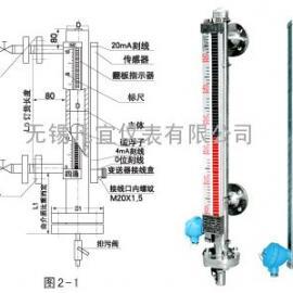 捆绑式干簧管磁翻板液位计