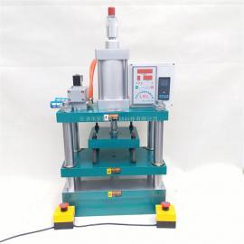 乐可力气动烫金机气动热压冲床800公斤加热温度可定制