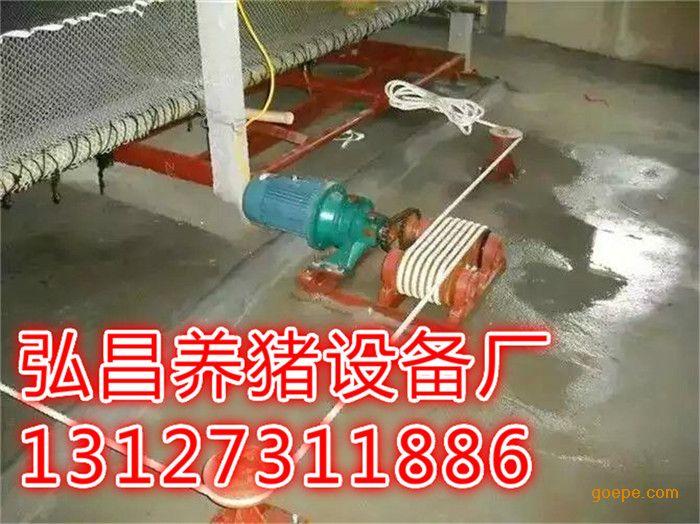 安装猪场自动化清理粪便系统设计图及厂家地址
