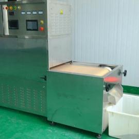 厂家供应五谷杂粮微波预熟杀菌烘焙熟化设备