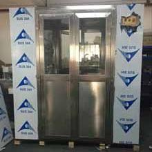 科来创供应2000-1型不锈钢中型双吹货淋室、货淋通道