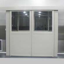 科来创供应2000-2型180度自动平移双开门中型双吹货淋室