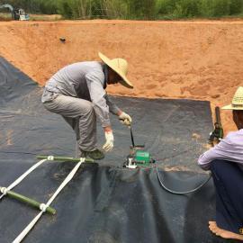 黑膜沼气池 沼气池效果图 沼气池建设 沼气施工单位