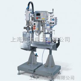 25L半自动灌装机_称重式液体灌装机带压盖机