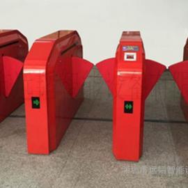 翼闸通道闸机翼闸自助餐售票刷卡消费系统智能刷卡一二维码售票机