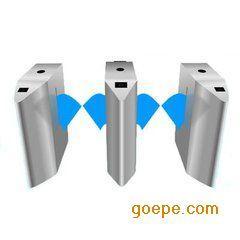 304优质不锈钢桥式翼闸 智能刷卡 通道系统闸机 深圳闸机