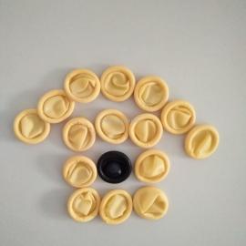 RST防静电手指套、米黄色防静电指套、LCM用手指套、TP生产用防静