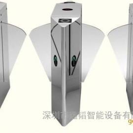 新款翼闸通道闸机全自动智能闸机门禁机人行通道闸机