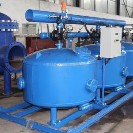 砂石过滤器 节水灌溉去浊度过滤器 循环水旁滤浅层过滤器