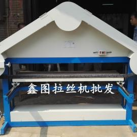 1米5宽手动拉丝机 电动砂带不锈钢板直纹拉丝机 加工效率高