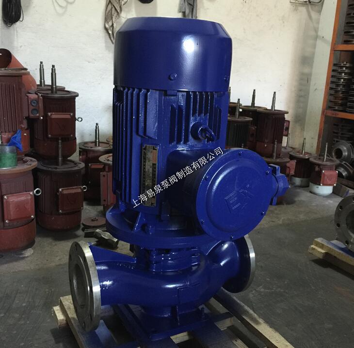 易泉泵阀IHG不锈钢立式离心泵 立式离心泵