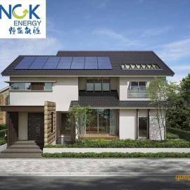恒凯能源分体式别墅太阳能热水取暖系统工程方案设计