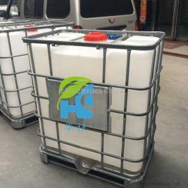 怀宁0.5吨防腐蚀化工包装桶500L方形周转桶生产厂家