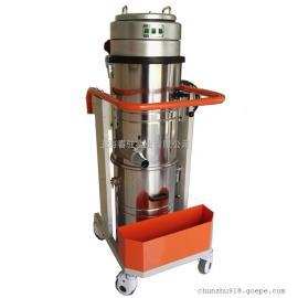 车间保洁用吸灰尘吸尘器 上下桶工业吸尘器强力吸尘器
