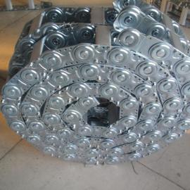 安徽六安#TL65型钢制拖链(桥型)/*不锈钢拖链