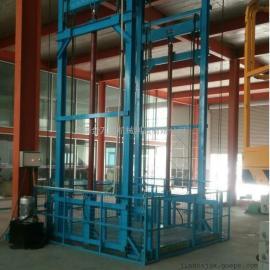 量身定做烟台仓库链条式升降机,运货专用导轨式升降货梯。