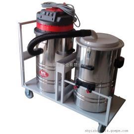 大量粉尘用工业吸尘器打磨车间用吸粉尘颗粒粉末吸尘器