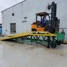 惠州叉车装卸货平台|惠州移动式叉车卸货登车桥
