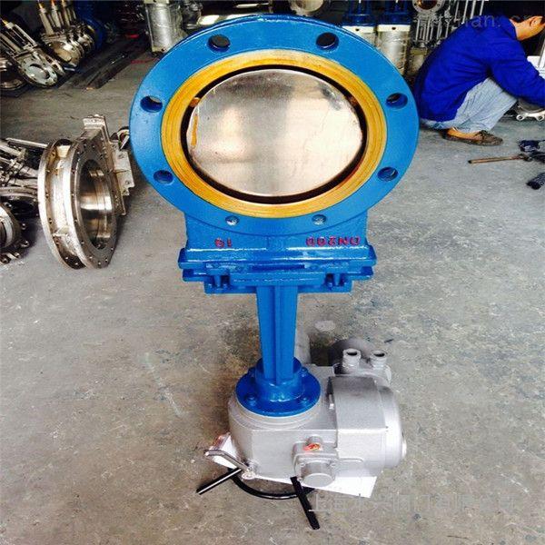 PZ973H/X/FW智能调节型铸钢电动刀型闸阀