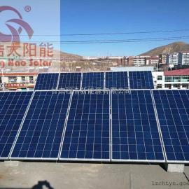 甘肃兰州3kw分布式光伏电站,3kw太阳能并网发电系统