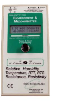 美国原装RT-1000重锤式表面静电阻测试仪总代理