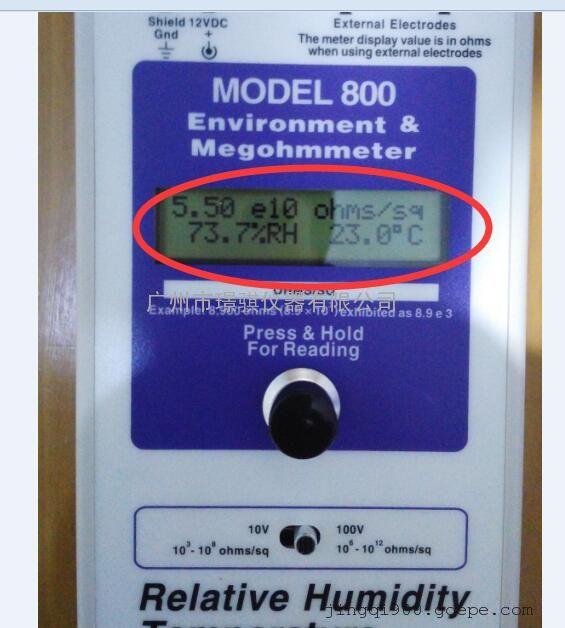 美国原装进口ACL-800兆欧仪现货销售