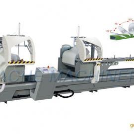 铝型材任意角数控双头锯/数控双头精密切割锯厂家大量现货