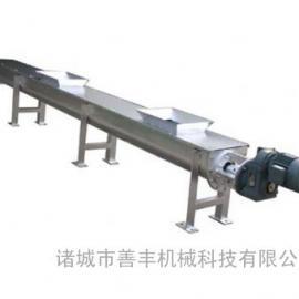 酿酒厂专用 无轴螺旋输送机