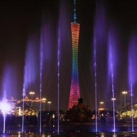 儋州喷泉设计-喷雾景观-音乐喷泉