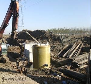 青岛三丰瑞克一体化提升泵站