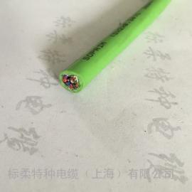 中度柔性拖链电缆,上海标柔厂家直销。