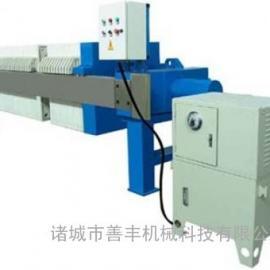自动厢式压滤机 污泥处理压滤机
