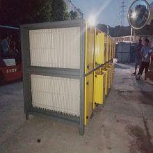 广东塑胶厂油雾分离 动态水雾净化器 杉盛水雾净化器厂家