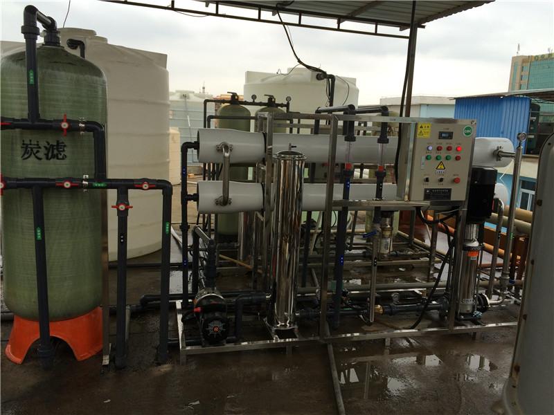 供应4000L/H工业纯水设备反渗透水处理设备操作简单