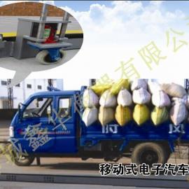小型山东电子地磅秤-(1-30吨)电子汽车衡